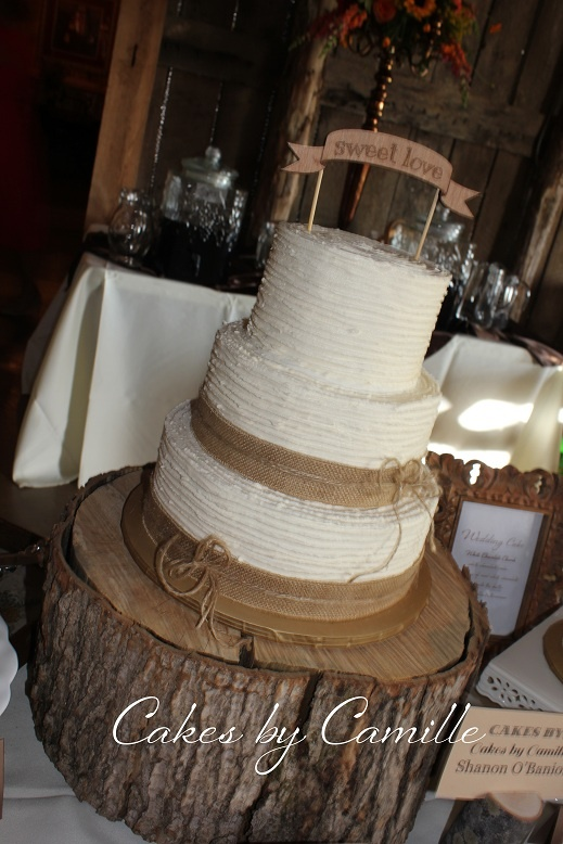 rustic burlap wedding cakes 74 best images about wedding cakes on vintage 19489