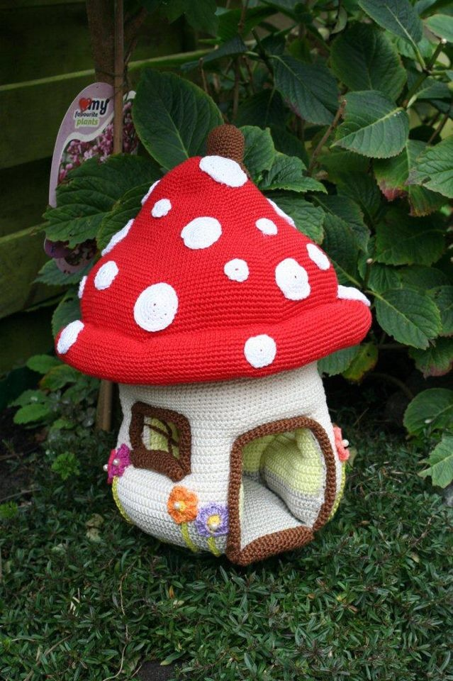 93 best images about crochet houses and fairy houses and