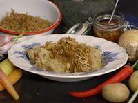 Koken met van boven - Hutspot met sambal en gebakken uitjes