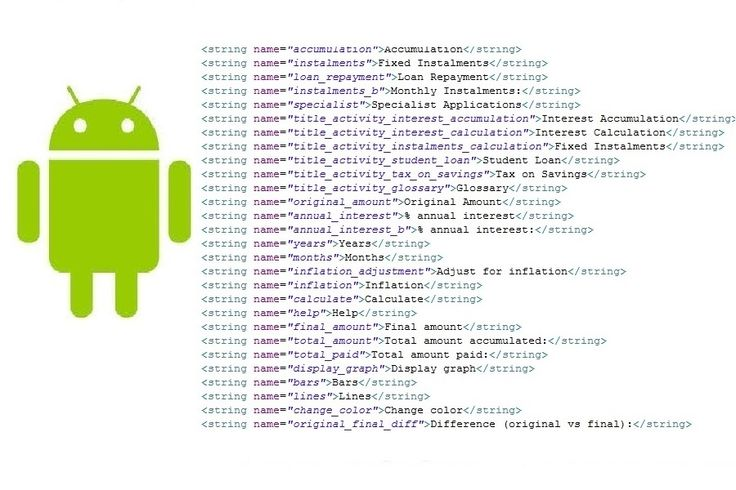 3 reasons to use strings.xml in Android application