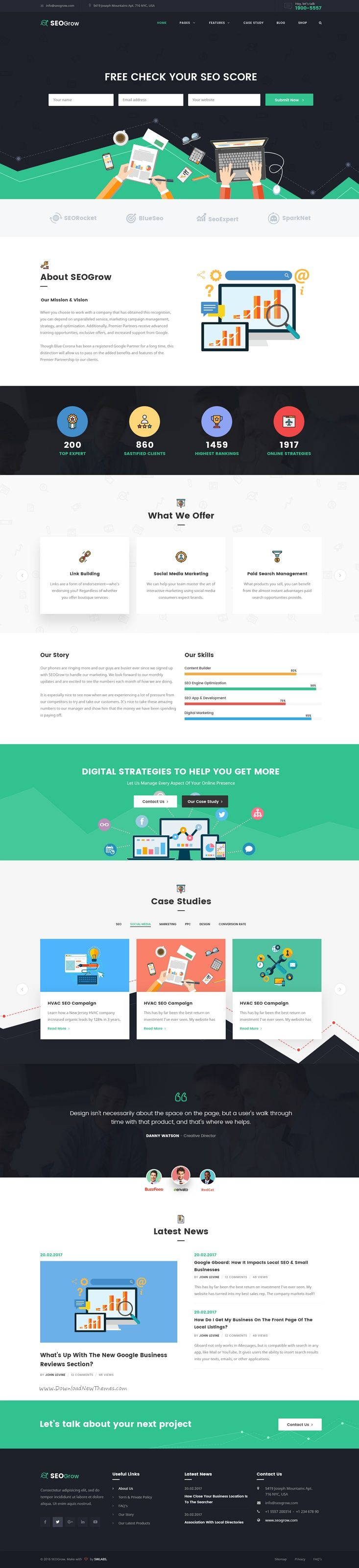 Best 25 online marketing agency ideas on pinterest what is seo grow is a perfect psd template especially for seo online marketing agency google partner digital marketing agencies website with 3 homepage malvernweather Image collections