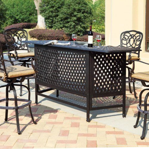 Luxury Cast Aluminum Bar Set