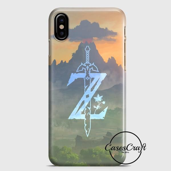 Zelda Logo Art iPhone X Case   casescraft