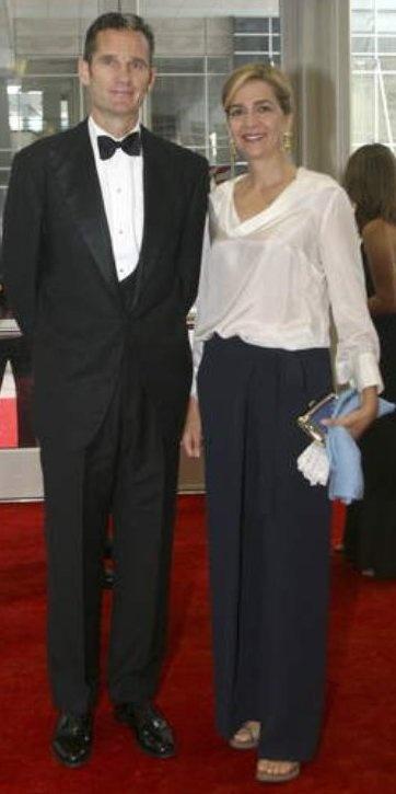 Cristina y Iñaki