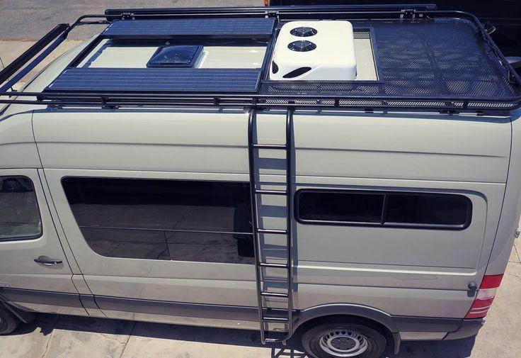 Sprinter Rooftop A C 144 Google Sprinter Van Conversion Layout Van Conversion Layout Sprinter Van