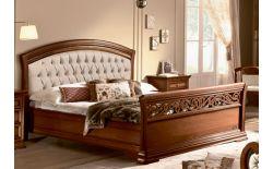 Κρεβάτι με Δερμάτινο Καπιτονέ Κεφαλάρι CG-050465
