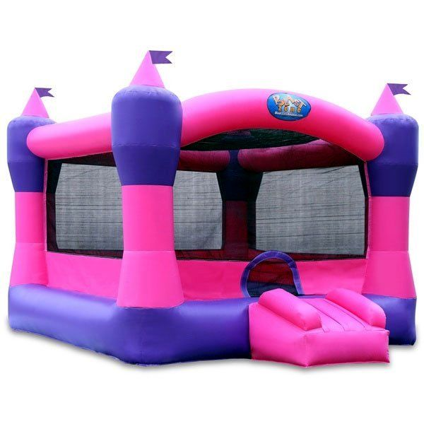 Princess Castle Commercial Bounce House by Blast Zone - Bounce Houses Now