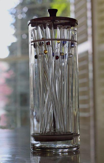 Gift idea - GlassDharma glass straws - made in USA