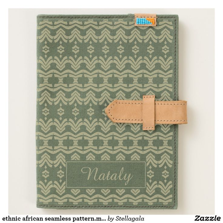 ethnic african seamless pattern.monogram. journal