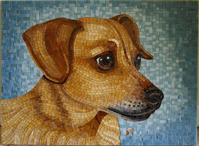 Heidi by mosaic artist Donna Van Hooser / sundogmosaics, via Flickr
