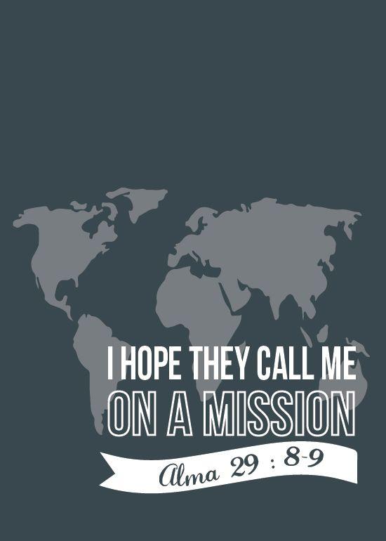 Todas as coisas brilhantes e bonitas: Missionário Quotes & Printables