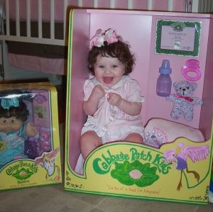 Cabbage Patch Kids Halloween costume