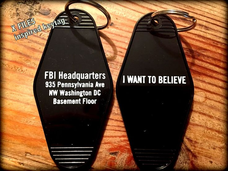 X FILES inspired keytag FBI Headquarters by KeyTagsRUSdotcom on Etsy https://www.etsy.com/listing/281073104/x-files-inspired-keytag-fbi-headquarters