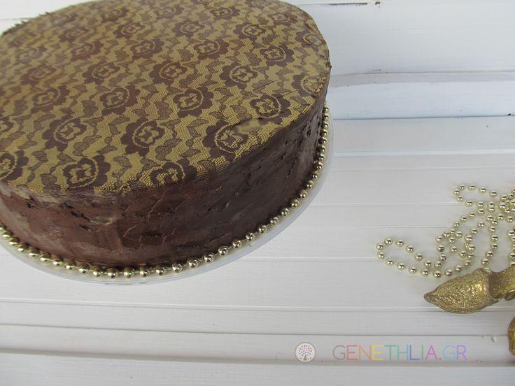 ευκολη τουρτα δαντελα-ευκολη διακοσμηση τουρτας-genethlia.gr