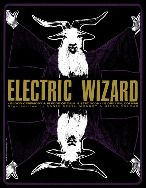 GigPosters.com - Electric Wizard - Blood Ceremony