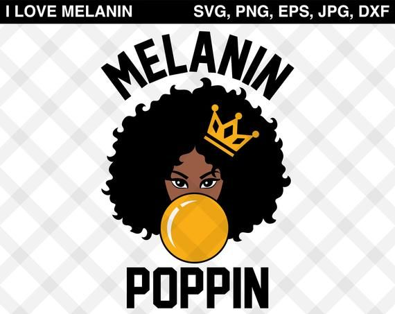 Melanin Poppin Digital Files Featuring Afro Girl Blowing Gum File Perfect For T Shirts Birthday Cards Wall Decals Black Girl Art Afro Girl Melanin Poppin