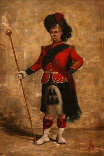 Drum Major, 42nd Royal Highland Regiment