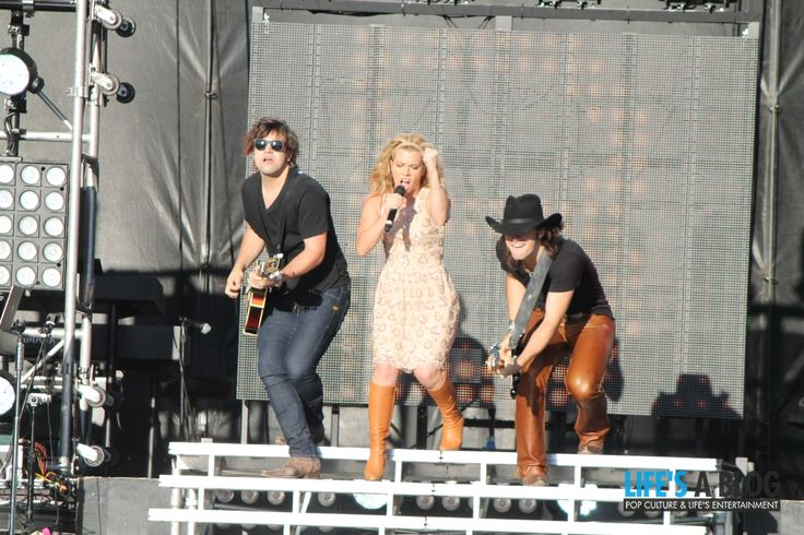 The Band Perry at Boots and Hearts Music Festival