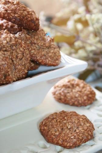 Кунжутное печенье -2