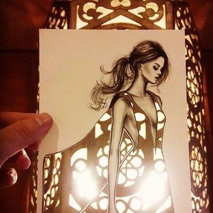 Saudi fashion illustrator Shamekh Bluwi has amassed more than 270,000 followers…