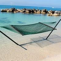 #Caribbean #Rope #Hammock (Green) $84.99