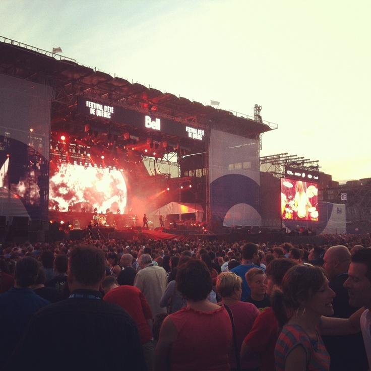 Festival D'Ete de Quebec, Quebec City, July 5-15, 2012