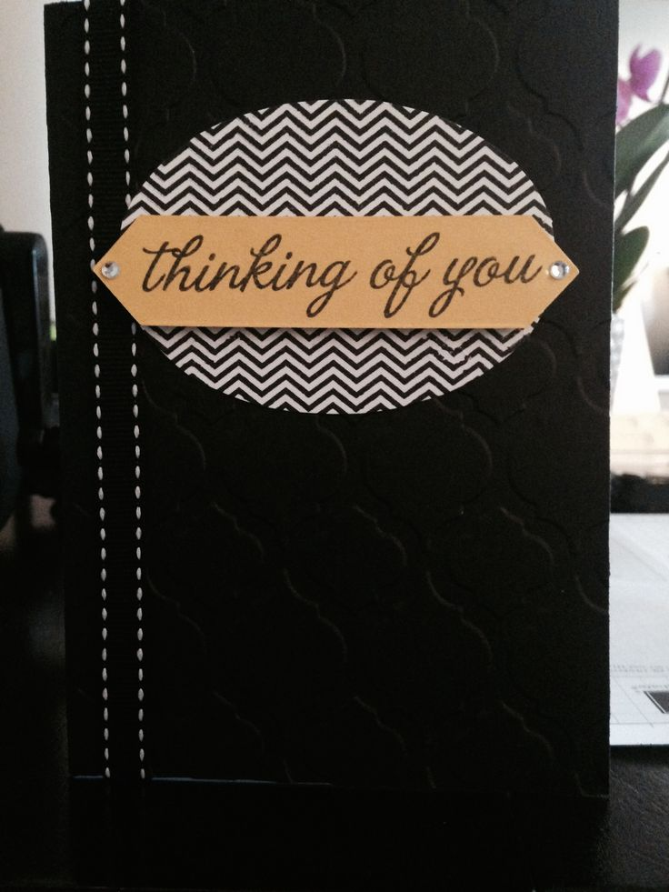 Oh, Hello! stamp and Baroque embossing folder both From Stampin' Up!
