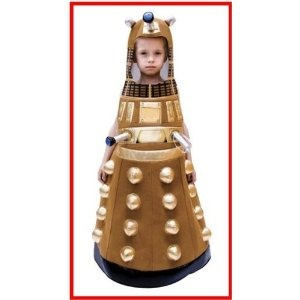 Dr Who Dalek Costume for Kids