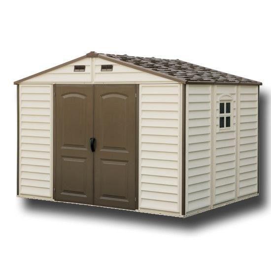 garden sheds woodside 10x8 plastic shed