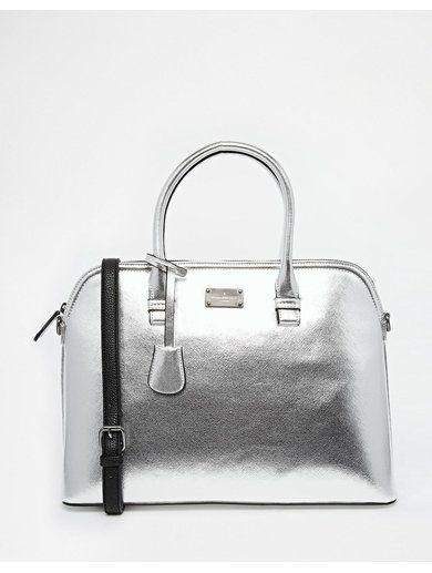 Paul's Boutique Maisy Tote Bag - Silver