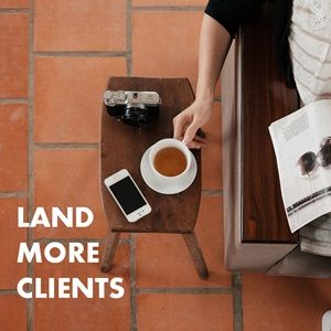 5 Steps to Land More Clients Than You Can Handle via @sidehustle  Good advice on how to prepare yourself for cold calling clients etc.