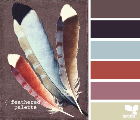 feathered palette