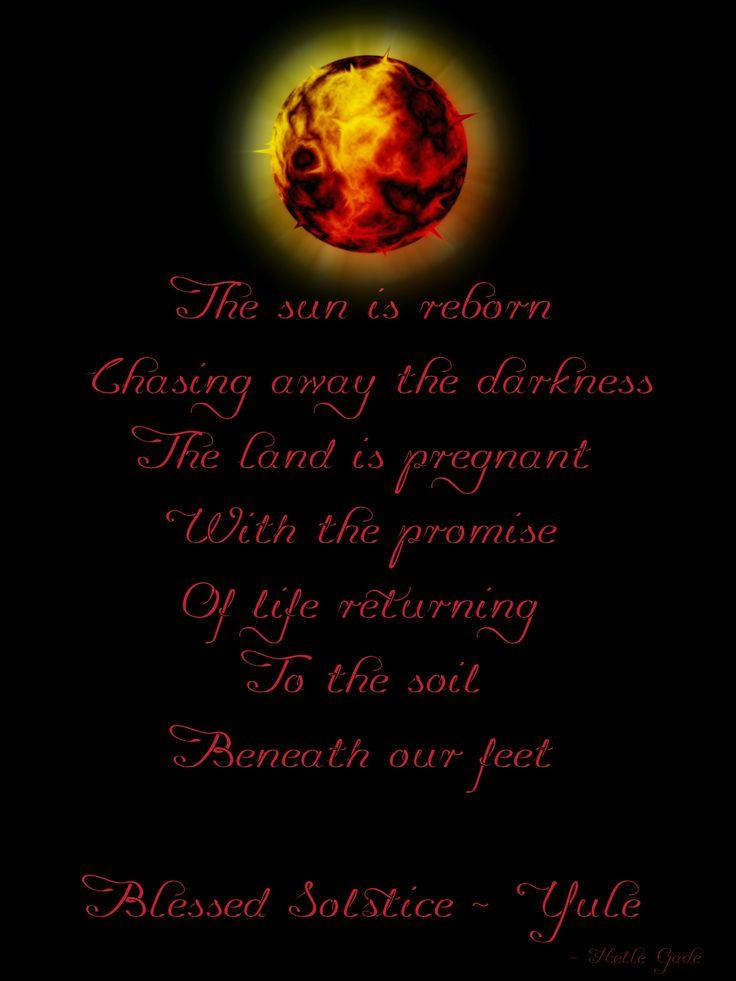 ~ Winter Solstice ~ #poetry
