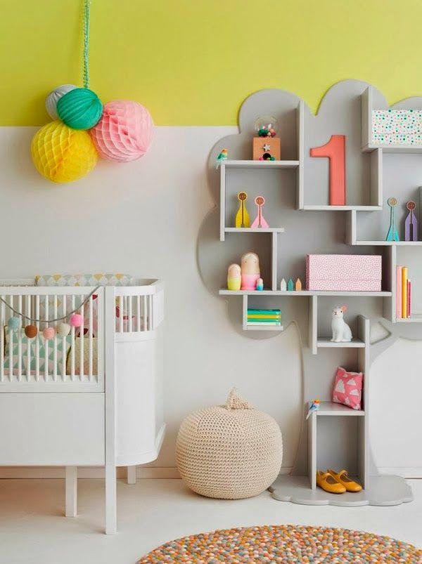 &SUUS   Nesteldrang - Kidsroom grey-yellow   ensuus.blogpost.nl I babykamer grijs-geel  