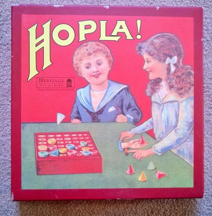 A MODERN BOXED VERSION OF THE CLASSIC  HOPLA   GAME
