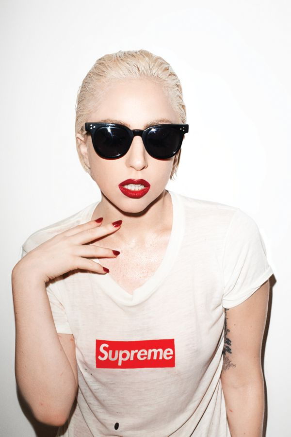 Lady Gaga shot by Terry Richardson
