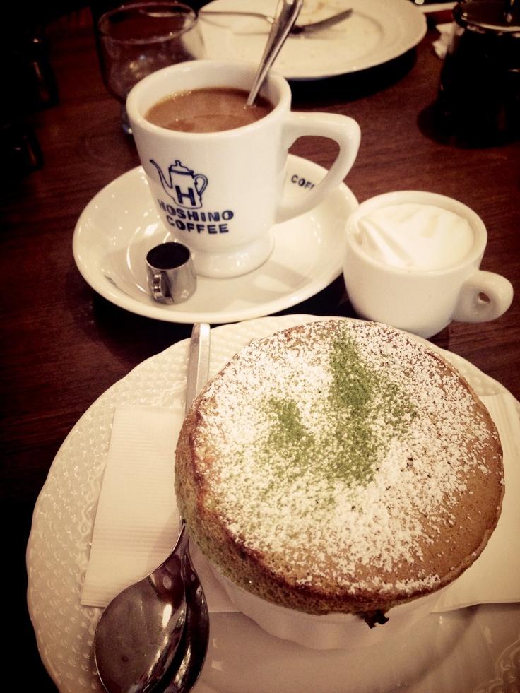 Hoshino coffee n soufflé
