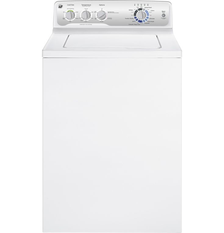 gtwn4250dws ge 39 doe cu ft stainless steel capacity washer ge
