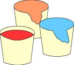 Ungiftige Fingerfarben für kleinere Geschwister selbst herstellen - oder auch auf der Basis von Maisstärke: http://www.huckleberrylove.com/2013/02/homemade-finger-paint-recipe.html