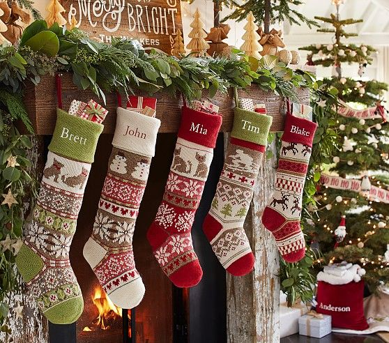 123 best Christmas - Stockings images on Pinterest | Boots ...
