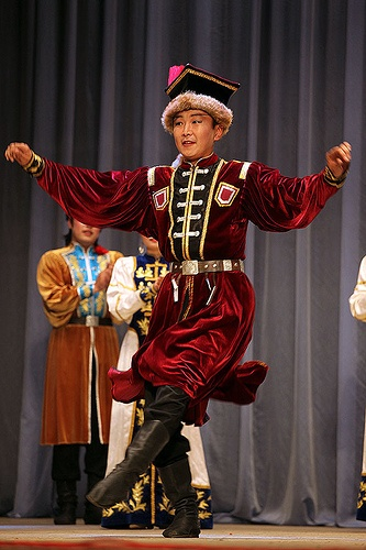 Kalmyk Folk Costume and Dance