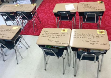 Professora transforma carteiras de seus alunos da 5ª Série em calmantes em dia de prova – Update or Die!