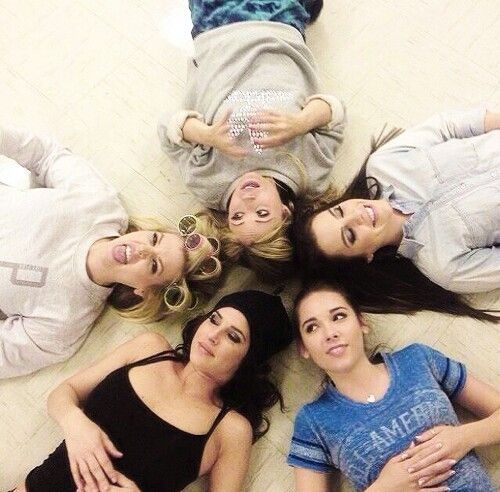 Kirsten Storms, Kelly Monaco, Haley Pullos, Kristen Alderson and Emme Rylan from General Hospital
