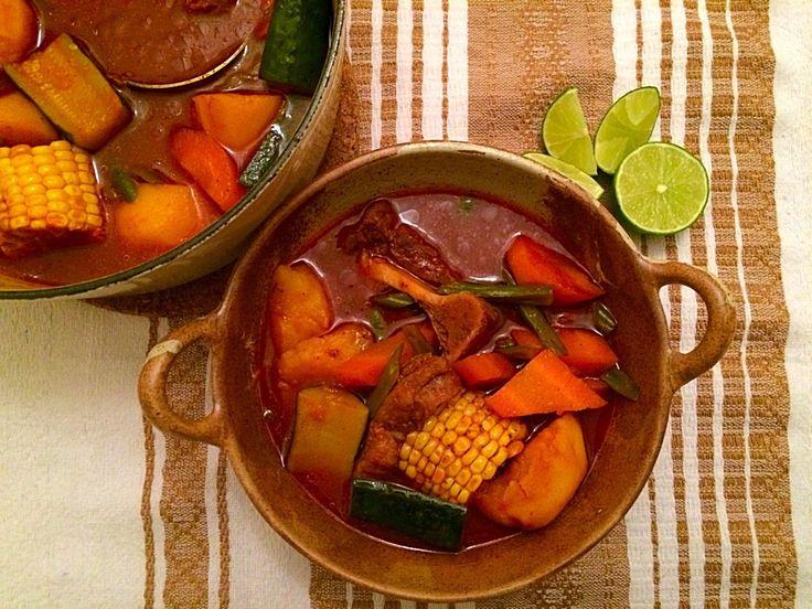 Mole de Olla (Beef Mole de Olla) | Mexican Food Memories