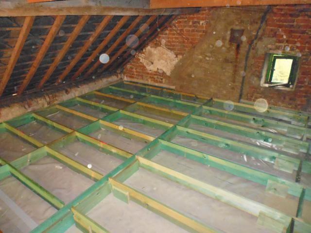 isolteam isoleren inblazen dak zoldervloer cellulose isocell dampscherm b1 vloer osb