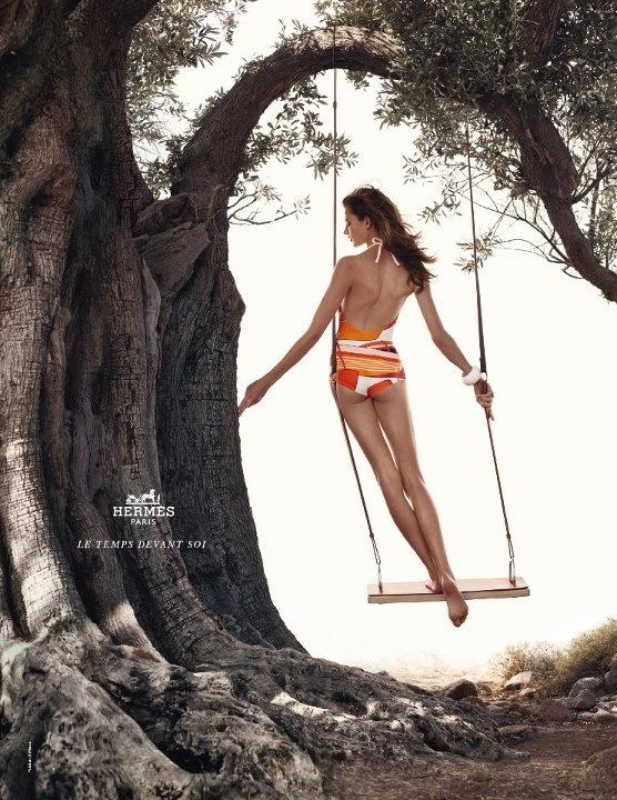 Hermès campaign shooting in Greece, Aegina Island