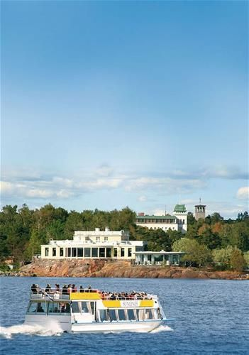 2. Tag: Abfahrt nach Helsinki um 03.00 Uhr, Seetag