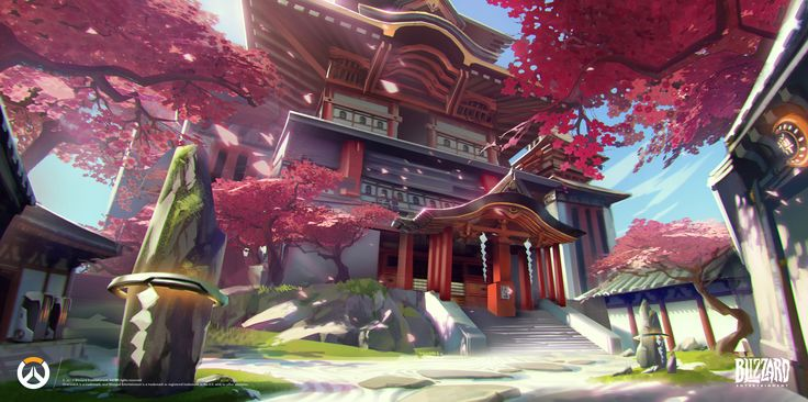 overwatch concept art environment - Google Search