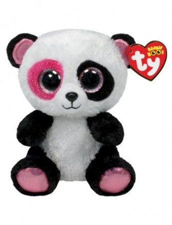 Amazon.com: Ty Beanie Boos Penny - Panda (Justice Exclusive): Toys & Games