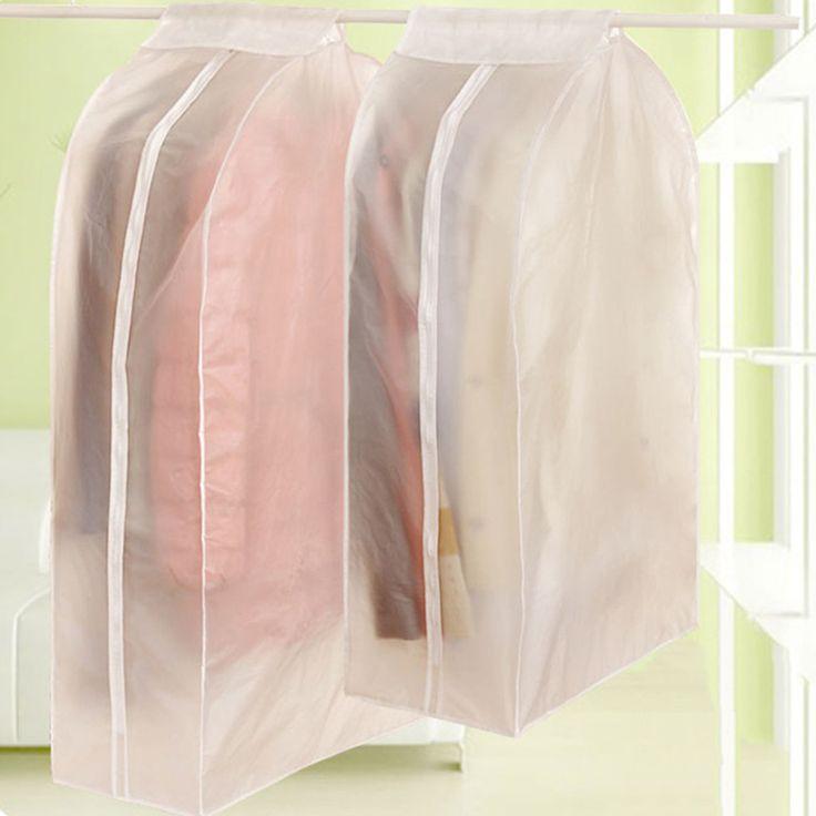 Storage Bag Case for Clothes Organizador Garment Suit Coat Dust Cover Protector Wardrobe Storage Bag for Clothes Organizador  #Affiliate